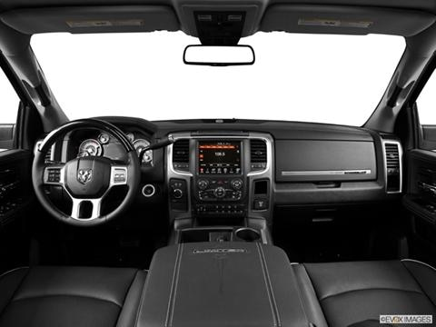 2014 Ram 3500 Mega Cab 4-door Big Horn  Pickup Dashboard, center console, gear shifter view photo