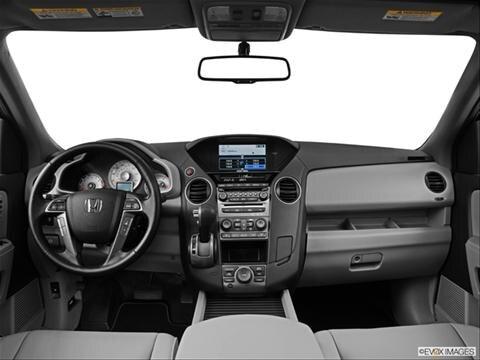 2014 Honda Pilot 4-door Touring  Sport Utility Dashboard, center console, gear shifter view photo