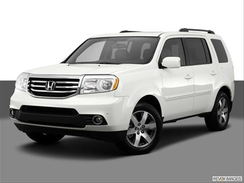2014 Honda Pilot 4-door Touring  Sport Utility Front angle medium view photo
