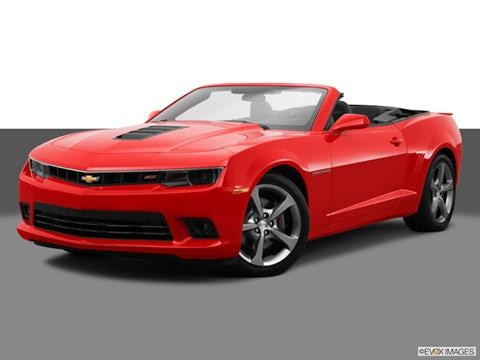 2014 Chevrolet Camaro 2-door SS  Convertible Front angle medium view photo