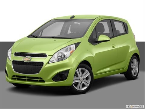 2014 Chevrolet Spark 4-door LS  Hatchback Front angle medium view photo