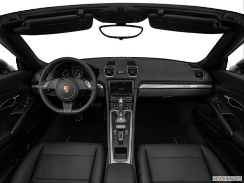 2014 Porsche Boxster 2-door   Convertible Dashboard, center console, gear shifter view photo