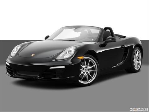 2014 Porsche Boxster 2-door   Convertible Front angle medium view photo