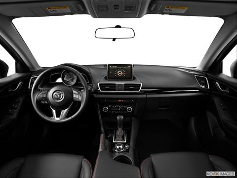 2014 Mazda MAZDA3 4-door i Grand Touring  Sedan Dashboard, center console, gear shifter view photo