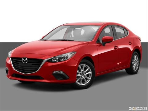2014 Mazda MAZDA3 4-door i Grand Touring  Sedan Front angle medium view photo