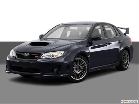 2014 Subaru Impreza Wrx Limited 2014 Subaru Impreza 4-door Wrx