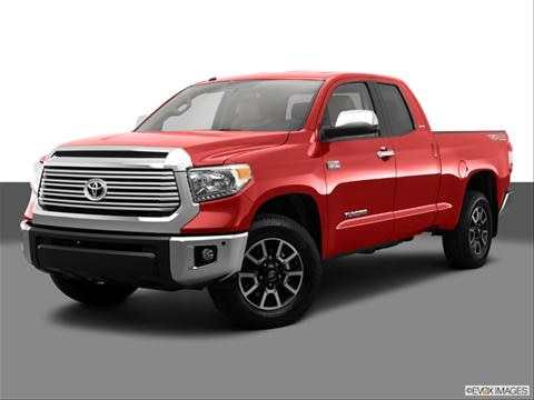2014 Toyota Tundra Double Cab 4-door Limited  Pickup Front angle medium view photo