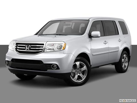 2014 Honda Pilot 4-door EX  Sport Utility Front angle medium view photo