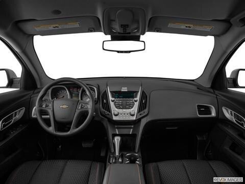 2014 Chevrolet Equinox 4-door LS  Sport Utility Dashboard, center console, gear shifter view photo