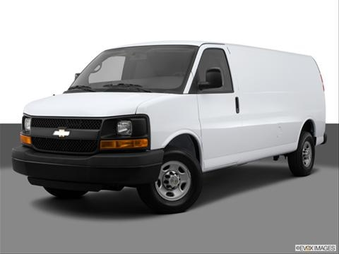 2014 Chevrolet Express 2500 Cargo 3-door Diesel Regular  Van Front angle medium view photo