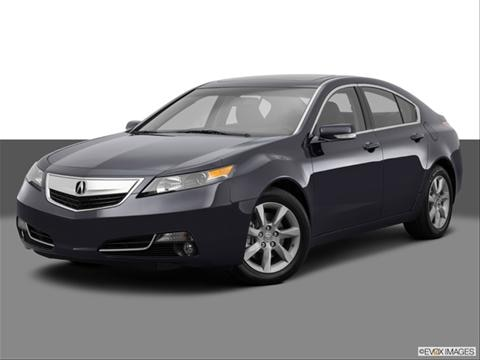 2014 Acura TL 4-door SH-AWD  Sedan Front angle medium view photo