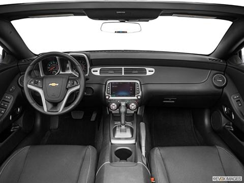 2014 Chevrolet Camaro 2-door LT  Convertible Dashboard, center console, gear shifter view photo