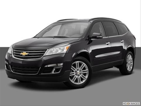 2014 Chevrolet Traverse 4-door LT  Sport Utility Front angle medium view photo