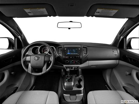 2014 Toyota Tacoma Regular Cab 2-door   Pickup Dashboard, center console, gear shifter view photo