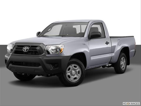 2014 Toyota Tacoma Regular Cab 2-door   Pickup Front angle medium view photo