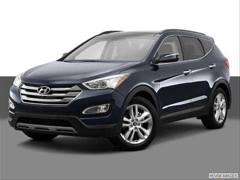 2014 Hyundai Santa Fe Sport 4-door 2.0T  Sport Utility Front angle medium view photo