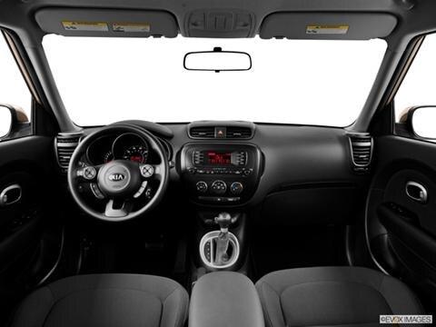 2014 Kia Soul 4-door   Wagon Dashboard, center console, gear shifter view photo