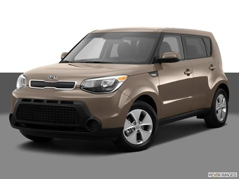 2014 Kia Soul 4-door   Wagon Front angle medium view photo