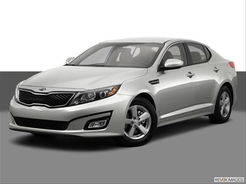 2014 Kia Optima 4-door LX  Sedan Front angle medium view photo