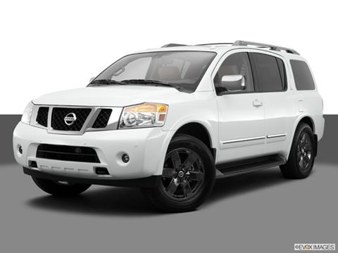 2014 Nissan Armada 4-door SV  Sport Utility Front angle medium view photo