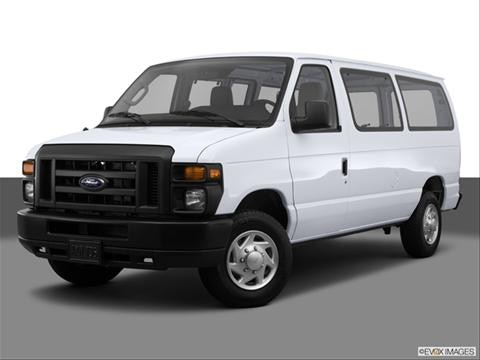 2014 Ford E150 Cargo 3-door   Extended Van Front angle medium view photo