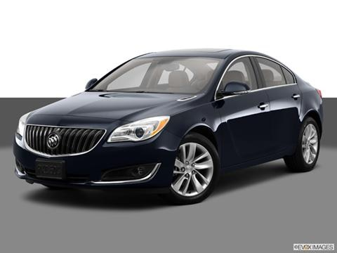 2014 Buick Regal 4-door   Sedan Front angle medium view photo