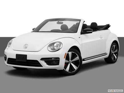 2014 Volkswagen Beetle 2-door R-Line  Convertible Front angle medium view photo