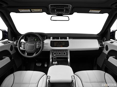 2014 Land Rover Range Rover Sport 4-door SE  Sport Utility Dashboard, center console, gear shifter view photo