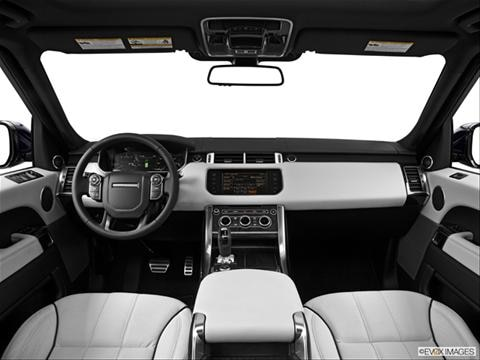 2014 Land Rover Range Rover Sport 4-door Supercharged  Sport Utility Dashboard, center console, gear shifter view photo
