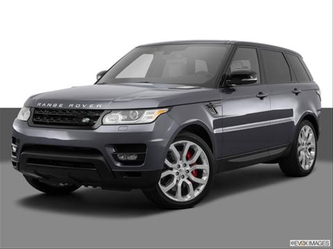 2014 Land Rover Range Rover Sport 4-door SE  Sport Utility Front angle medium view photo