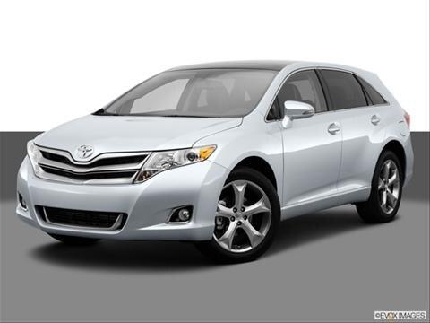 2014 Toyota Venza 4-door XLE  Wagon Front angle medium view photo