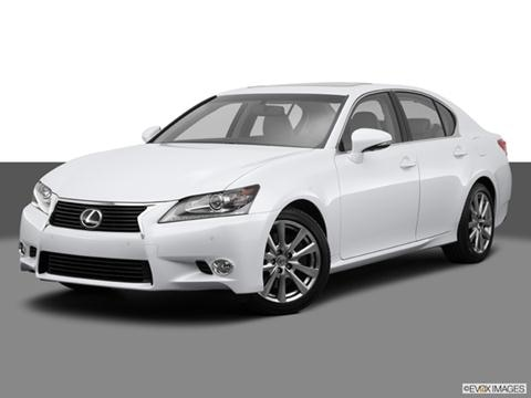 2014 Lexus GS 4-door GS 350  Sedan Front angle medium view photo