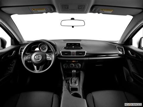 2014 Mazda MAZDA3 4-door i Sport  Hatchback Dashboard, center console, gear shifter view photo