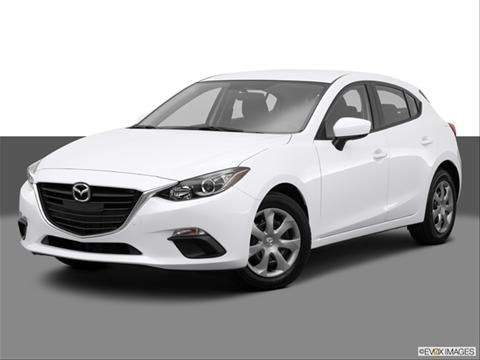 2014 Mazda MAZDA3 4-door i Sport  Hatchback Front angle medium view photo