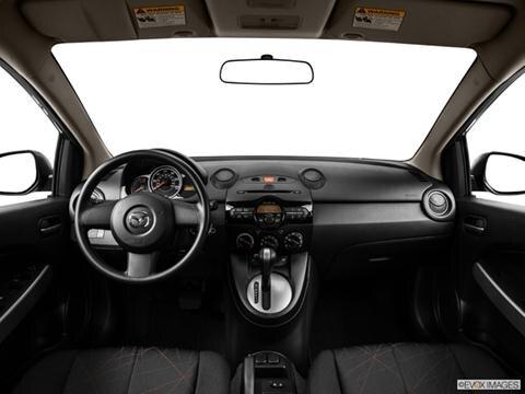 2014 Mazda MAZDA2 4-door Sport  Hatchback Dashboard, center console, gear shifter view photo