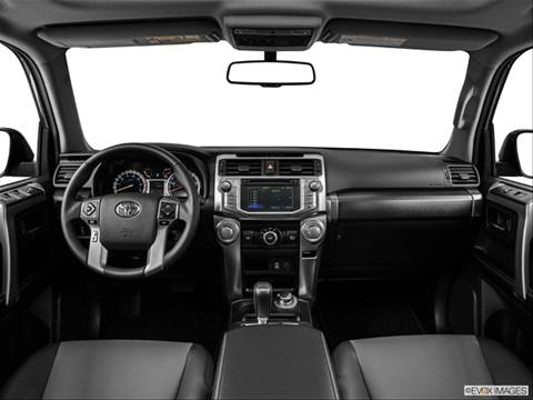 2014 Toyota 4Runner 4-door SR5 Premium  Sport Utility Dashboard, center console, gear shifter view photo