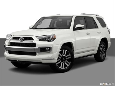 2014 Toyota 4Runner 4-door Trail  Sport Utility Front angle medium view photo