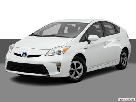 2014 Toyota Prius 4-door Two  Hatchback Front angle medium view photo