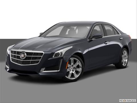 2014 Cadillac CTS 4-door 3.6 Premium Collection  Sedan Front angle medium view photo