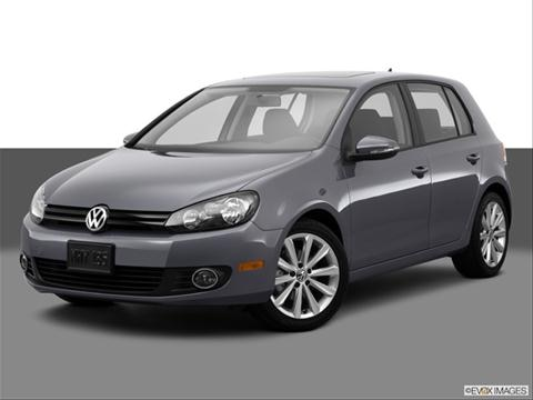 2014 Volkswagen Golf 4-door TDI  Hatchback Sedan Front angle medium view photo