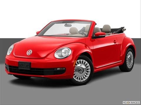 2014 Volkswagen Beetle 2-door TDI  Convertible Front angle medium view photo