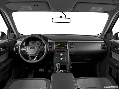 2014 Ford Flex 4-door SE  Sport Utility Dashboard, center console, gear shifter view photo