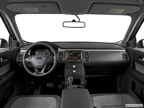 2014 Ford Flex 4-door SE  Sport Utility Dashboard, center console, gear shifter view photo
