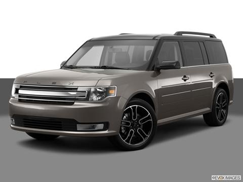 2014 Ford Flex 4-door SE  Sport Utility Front angle medium view photo