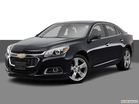 2014 Chevrolet Malibu 4-door LTZ  Sedan Front angle medium view photo