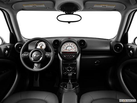 2014 MINI Cooper Countryman 4-door   Hatchback Dashboard, center console, gear shifter view photo