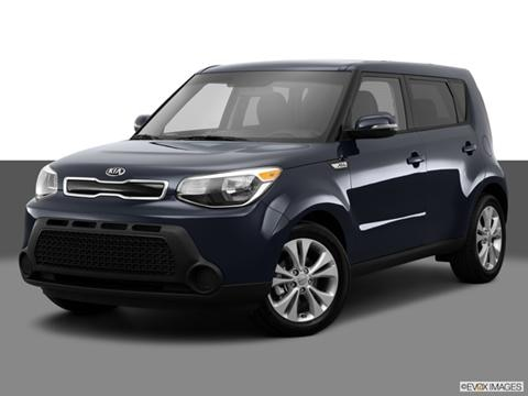 2014 Kia Soul 4-door +  Wagon Front angle medium view photo