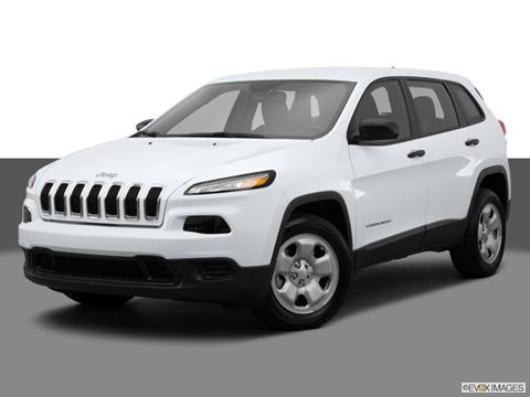 2014 Jeep Cherokee 4-door Sport  Sport Utility Front angle medium view photo
