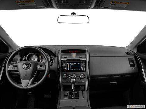 2014 Mazda CX-9 4-door Sport  Sport Utility Dashboard, center console, gear shifter view photo