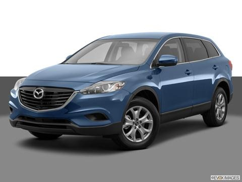 2014 Mazda CX-9 4-door Sport  Sport Utility Front angle medium view photo